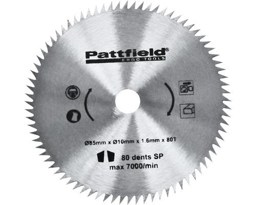 Mini lame de scie circulaire Pattfield Ø 85 mm universelle