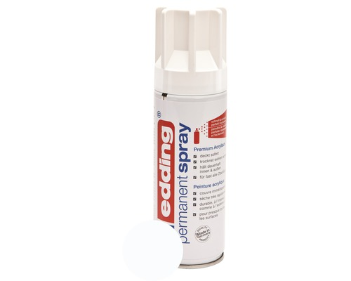 Permanent Spray edding blanc trafic brillant 200 ml
