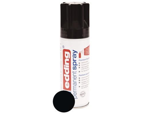 Permanent Spray edding noir foncé brillant 200 ml