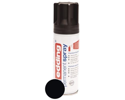 Permanent Spray edding noir foncé mat satiné 200 ml