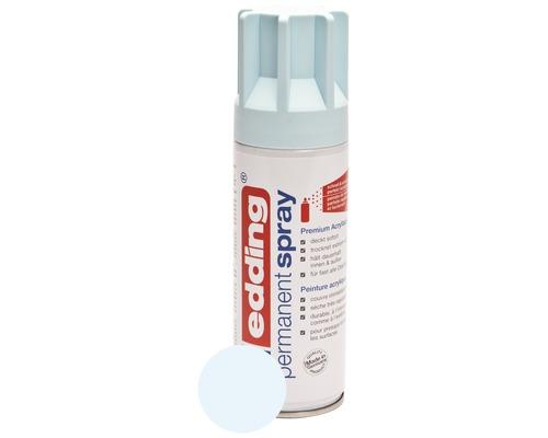 Permanent Spray edding bleu pastel mat satiné 200 ml