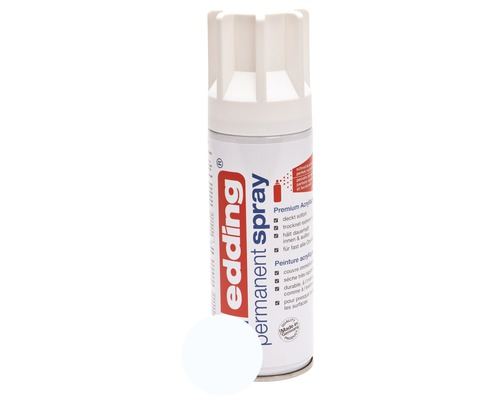 Permanent Spray edding blanc trafic mat satiné 200 ml