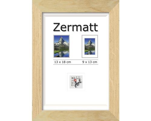 Cadre en bois Zermatt chêne 13x18 cm