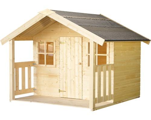Cabane de jeux Palmako Felix en bois, naturel