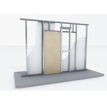 Système de porte coulissante KNAUF Pocket Kit pour porte en bois pour CW 75 et CW 100-thumb-0