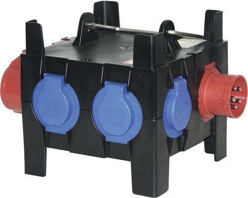Mobiler Verteiler CEE 16A IP44 rot PCE9030009