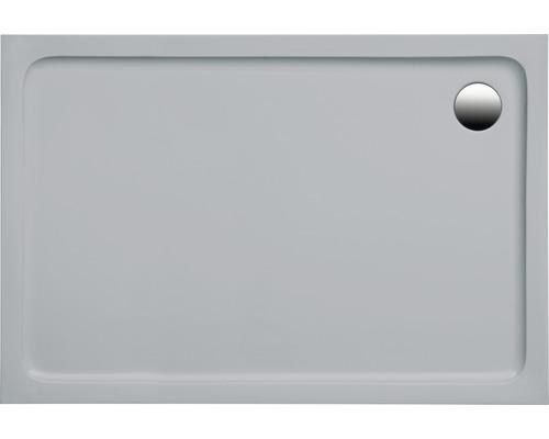 Extraflache Duschwanne Mambu 100x80x3 cm manhattan