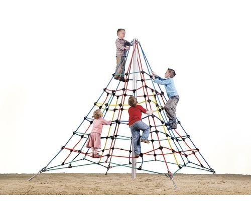Cadre d''escalade Mamutec Pyramide 300 en plastique