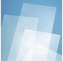Verre synthétique 2x500x1000 mm lisse transparent