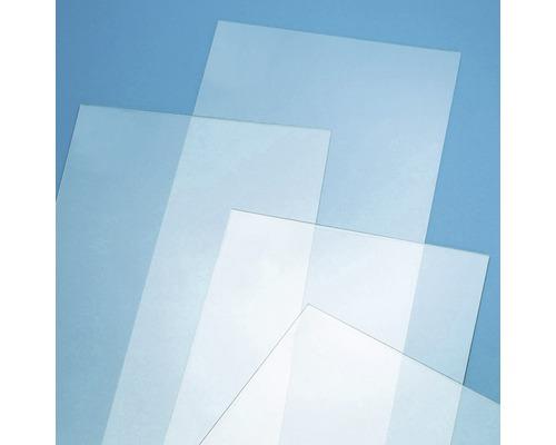 Verre synthétique 2x500x1500 mm lisse transparent