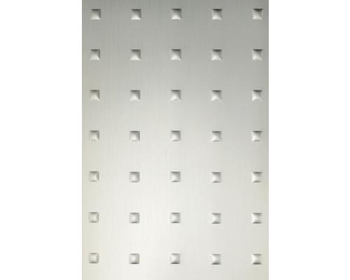 Plaque à effet métal 1.2x650x1000 mm Carrés