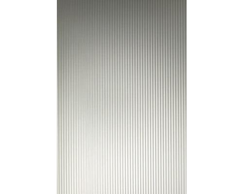 Plaque à effet métal 1.2x650x1000 mm Petites vagues
