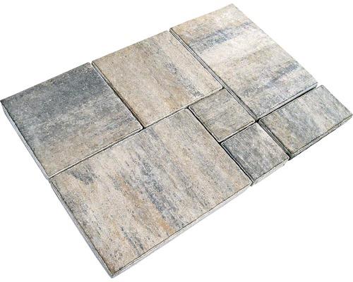 Dalle Pour Terrasses En Béton IStone Plus Calcaire Coquillier Plusieurs  Tailles épaisseur 5 Cm (disponible