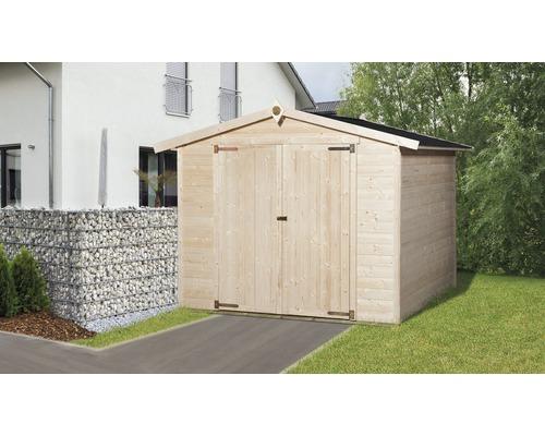 Garages en bois et garages en métal