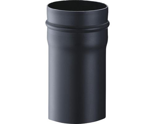 Conduit de poêle Pellet DN80 250mm cylindrique gris fonte