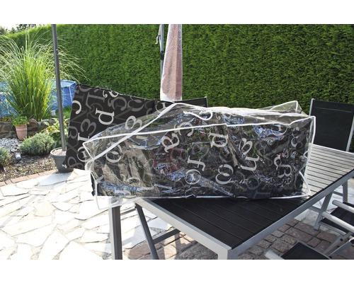 Housse de protection pour galettes d''assise 125x32x50cm
