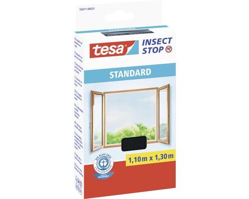 Moustiquaire pour fenêtre tesa Insect Stop Standard anthracite 110x130 cm
