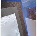 Plaque en polystyrène 5x500x1000 mm lisse transparente