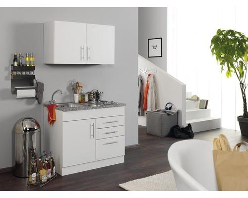 Mini-cuisine Held Möbel Toronto blanc 100 cm avec des appareils encastrés