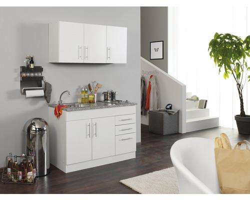 Mini-cuisine Held Möbel Toronto blanc 120 cm avec des appareils encastrés