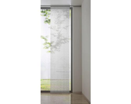 Schiebegardine Mesh weiß 60x300 cm
