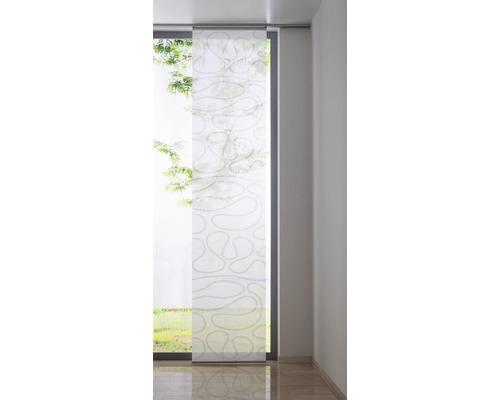 panneau japonais move blanc 60x300 cm hornbach luxembourg. Black Bedroom Furniture Sets. Home Design Ideas