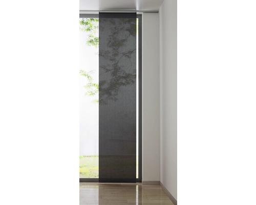 Schiebegardine Cool grau 60x300 cm