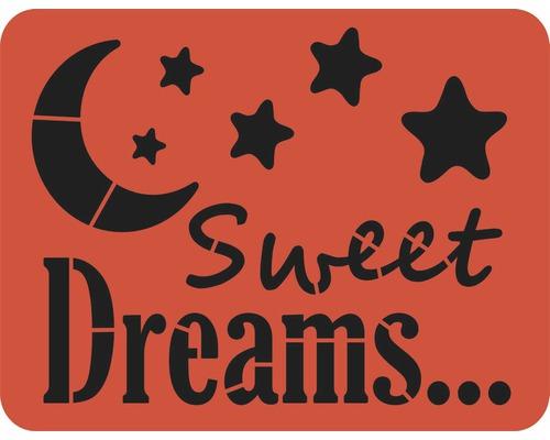 Pochoir Sweet Dreams XL 56 x 43 cm