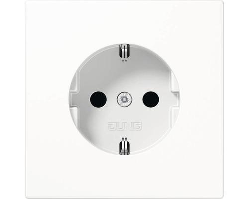 Insert de prise de courant avec protection de contact renforcée Jung LS990/LS-Design 1520 KI WW blanc alpin