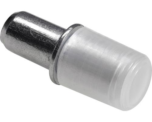 Support au sol en verre, acier/plastique 5 mm, 100 pièces