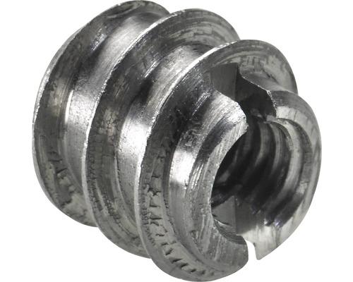 Manchon rotatif en acier à filetage M4/6 mm, 200 pièces