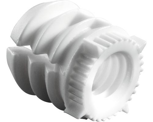 Manchon à enfoncer en plastique M6/10 mm, 100 pièces