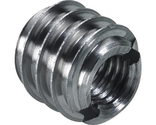 Manchon rotatif en acier à filetage M8/12 mm, 50 pièces