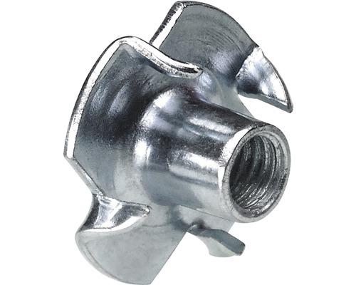 Écrou captif en acier à filetage M5/7 mm, 200 pièces