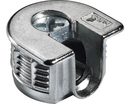 Ferrure d''assemblage VB 35/16, nickelée, 25 pièces
