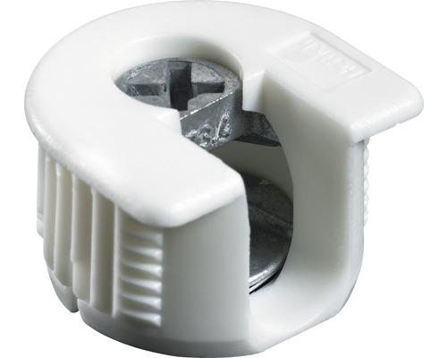 Ferrure d''assemblage VB 35/16, blanc, 25 pièces