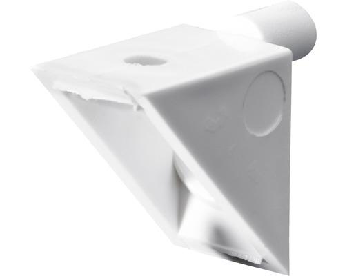 Plancher en angle à visser, plastique Ø 5 mm, 50 unités