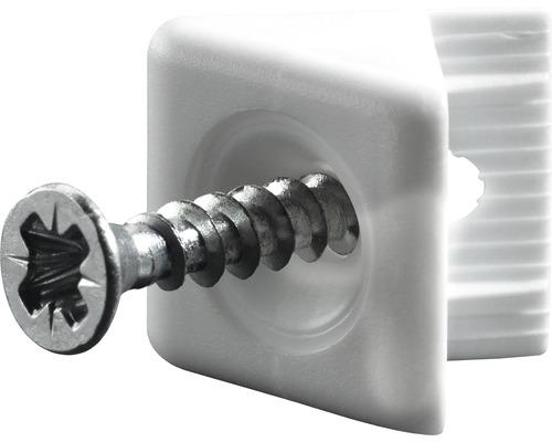 Stabilisateur, blanc 15x10,5 mm, 100 unités