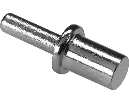 Support à enficher au sol, nickelé 3/5 mm, 100 pièces