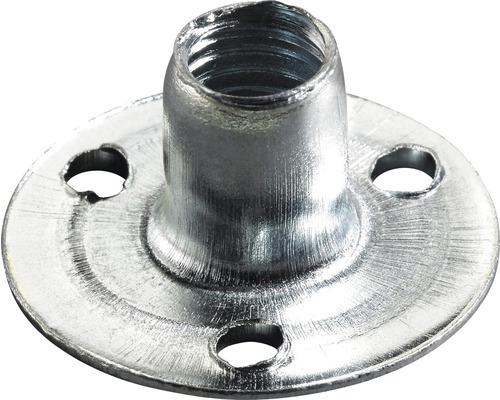 Écrou à visser en acier avec filetage M8, galvanisé M8x100 mm, 50 pièces
