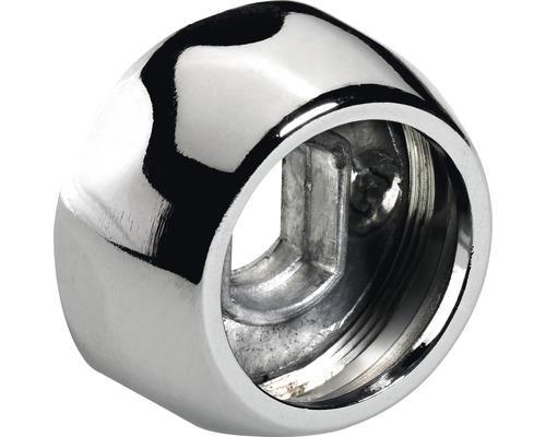 Support pour barre de penderie 25 mm chromé, 50 pièces
