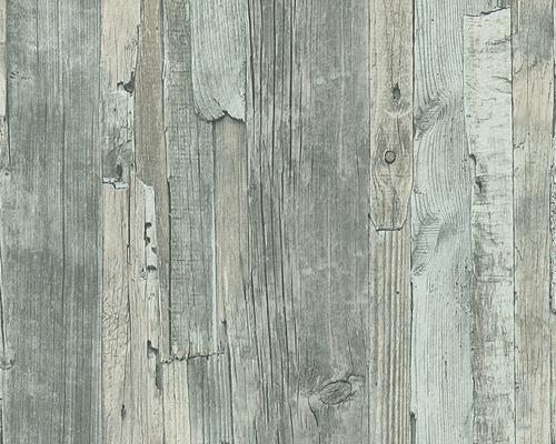 Papier Peint Intissé 95405 5 Decoworld Imitation Bois Vert