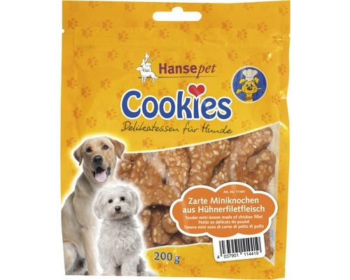 Hundefutter trocken, Cookies Zarte Miniknochen 200 g