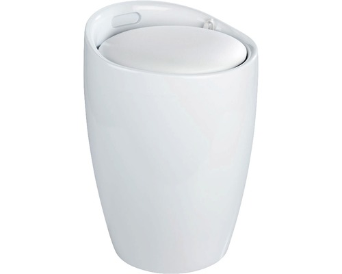 Tabouret Candy blanc