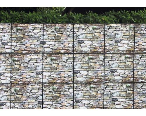 Bandes occultantes 16m, mur
