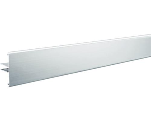 Profilé Paulmann aluminium Duo alu/anodisé 2,0 m