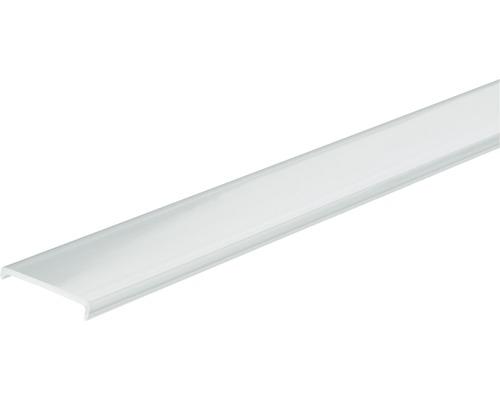 Profilé Paulmann aluminium Duo avec diffuseur satin 2,0 m