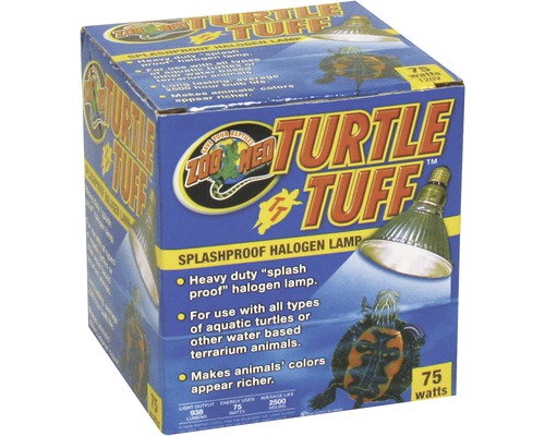 Halogen Spot Turtle Tuff, 75 W