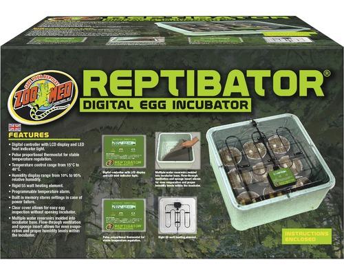 Incubateur Zoo Med pour œufs de reptiles, numérique