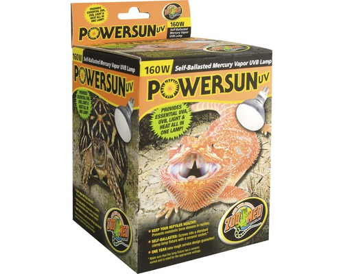 UV-Strahler Power Sun, 160 W